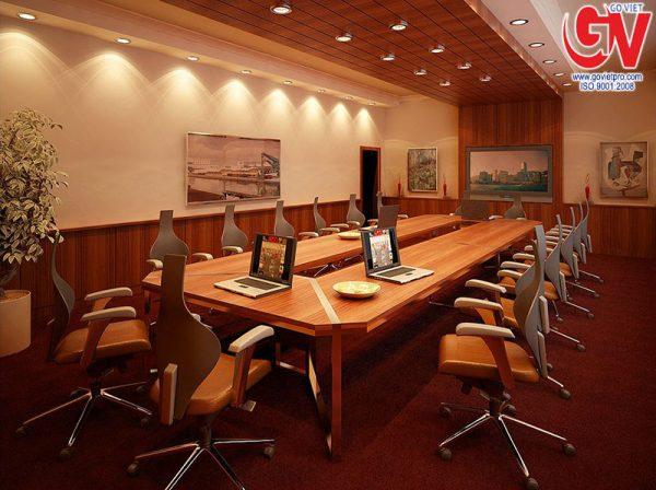 Giải pháp tiêu âm và cách âm bằng gỗ tiêu âm dành cho phòng họp