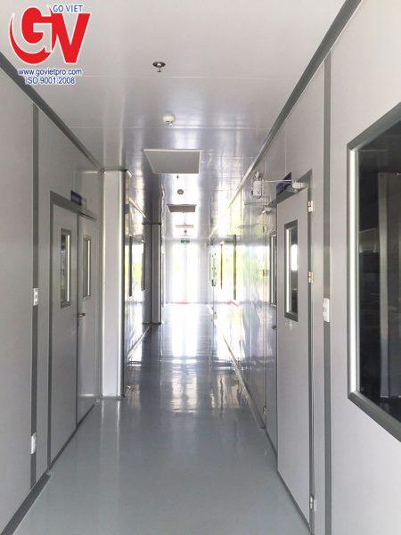 Ảnh thực tế công trình thi công Phòng sạch bằng Panel cách nhiệt của Công Ty Gỗ Việt