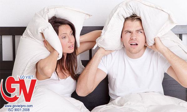 Các giải pháp cách âm phòng ngủ