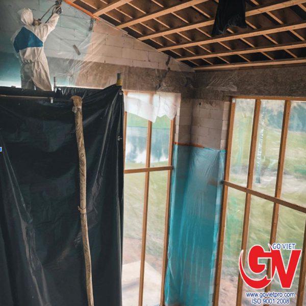 Lắp đặt vật liệu bảo ôn cách nhiệt cho ngôi nhà