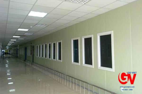 Vách, trần panel cách nhiệt đa năng ứng dụng được nhiều công trình
