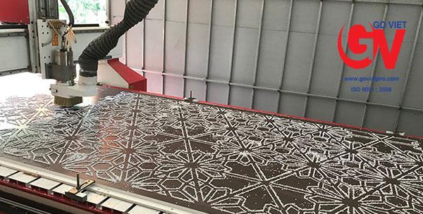 Công nghệ gia công cắt CNC gỗ MDF