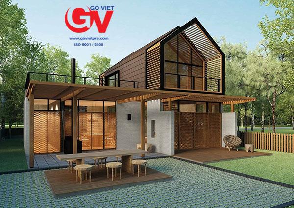 Dịch vụ thiết kế thi công Homestay tại Đà Lạt của Gỗ Việt