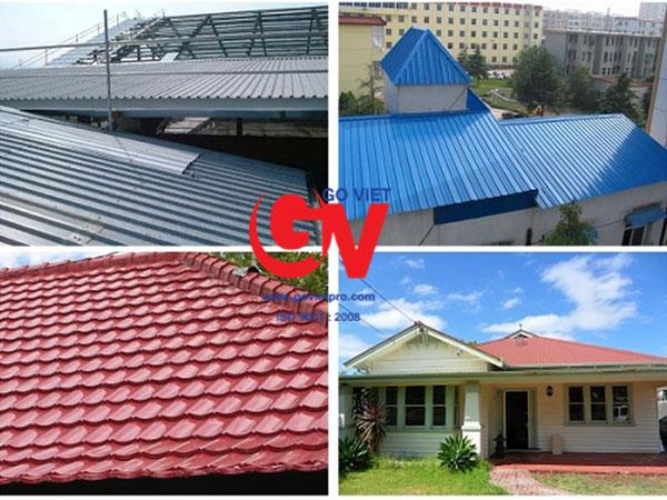Mái nhà lợp tôn cách nhiệt có tốt không?