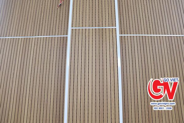 Tác dụng gỗ tiêu âm trong thi công, xây dựng giúp tiêu âm cực tốt